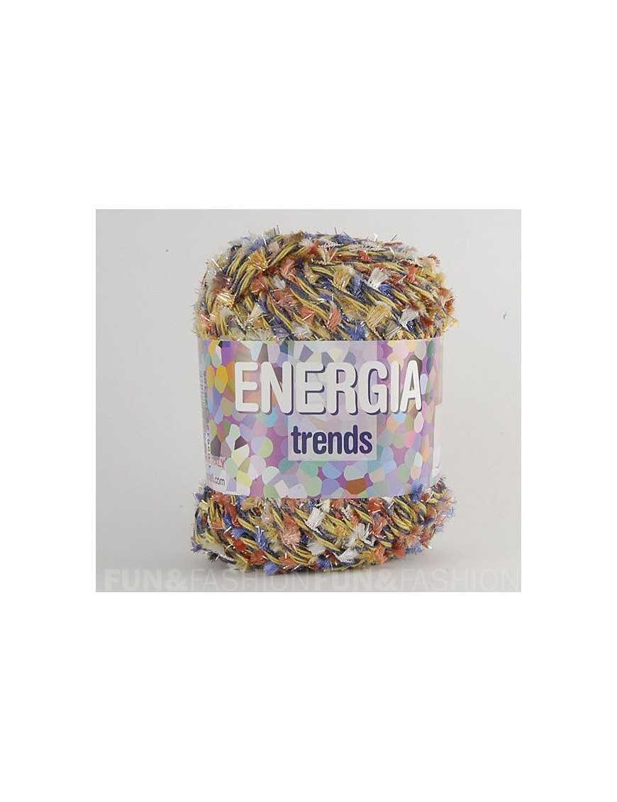 Yarn Energia multi brown fancy 66