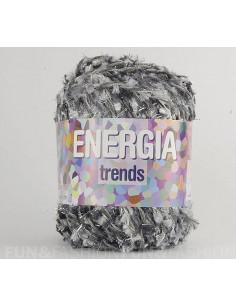 Adriafil energia fantaisie gris noir 67