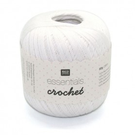 Essentials crochet blanc 001