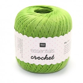 Essentials crochet light green 009