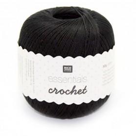 Essentials crochet zwart 012