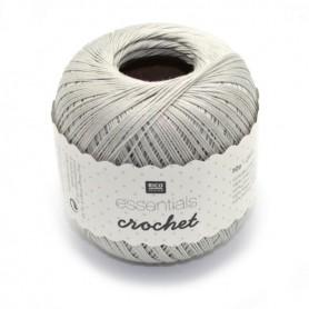 Essentials crochet silver grey 018