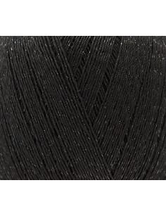 Essentials crochet glitz zwart 008