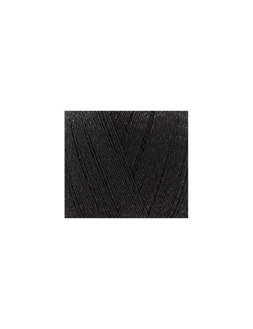 Fil pour crochet Rico Essentials crochet glitz black 008