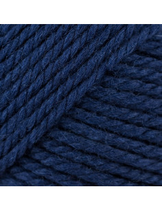 soft Merino Aran navy 037