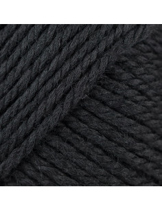 Soft Merino Aran noir 090