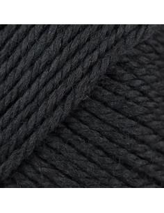 Soft Merino Aran zwart 090