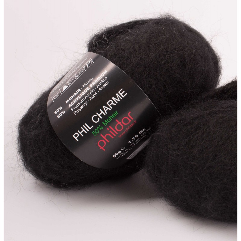 Strickwolle Phildar Phil Charme noir