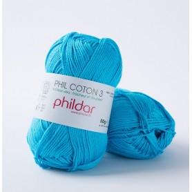 Phildar Phil Coton 3 turquoise 41