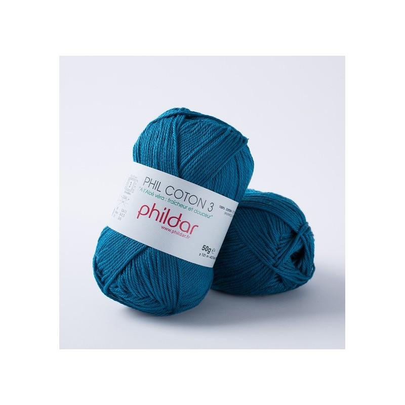 Crochet yarn Phil Coton 3 canard