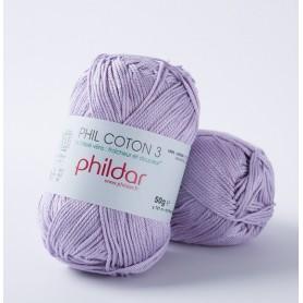 Phildar Phil Coton 3 lavande 69