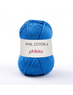 Crochet yarn Phil Coton 4 gitane