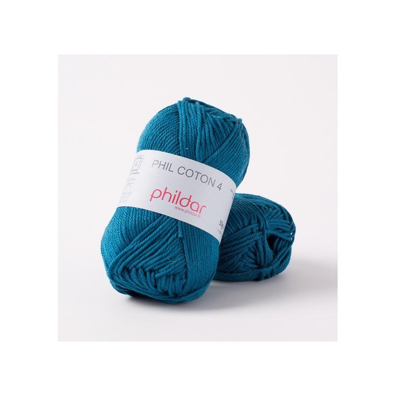 Crochet yarn Phil Coton 4 canard