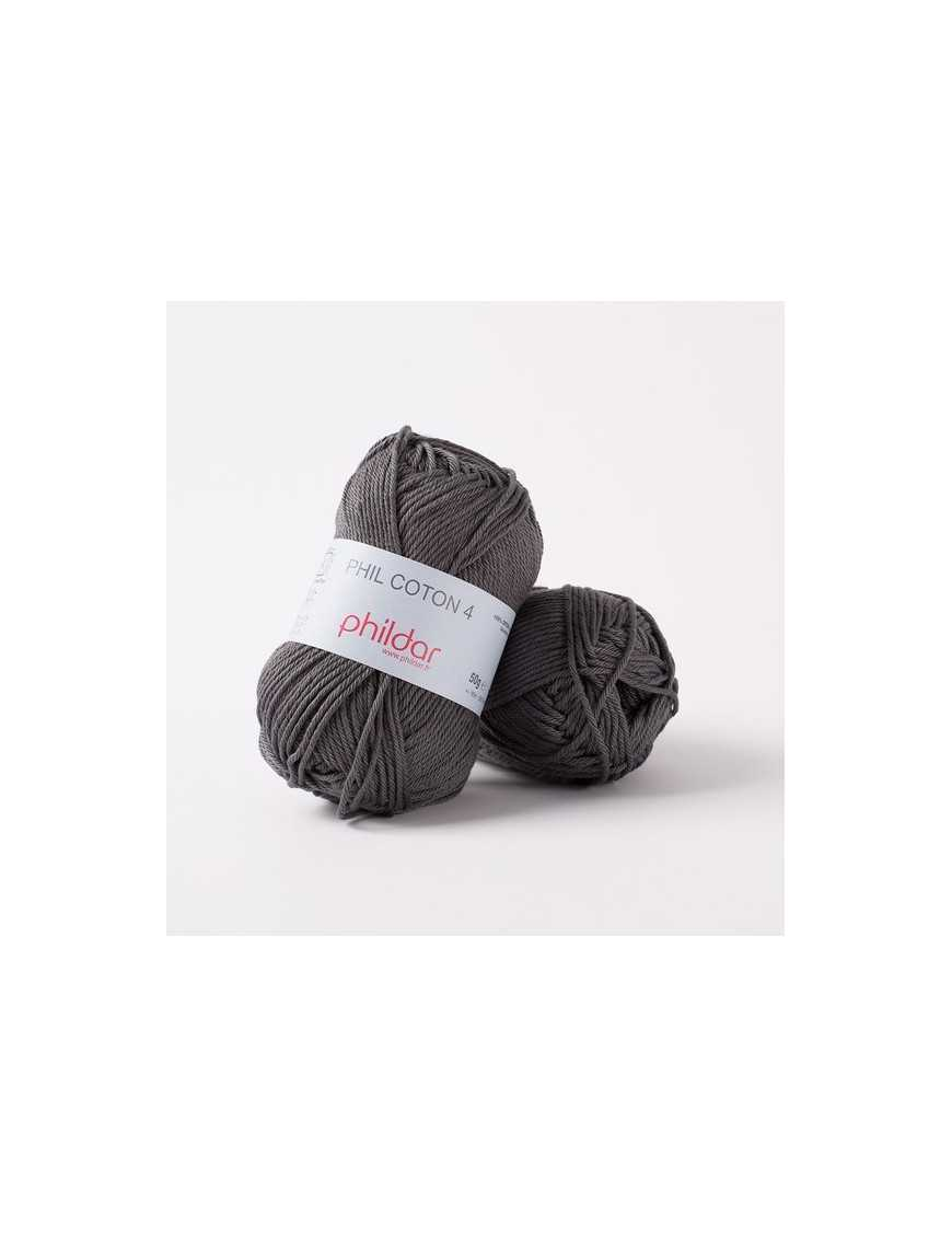 Crochet yarn Phil Coton 4 minerai