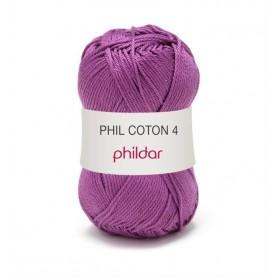 Crochet yarn Phil Coton 4 clematite