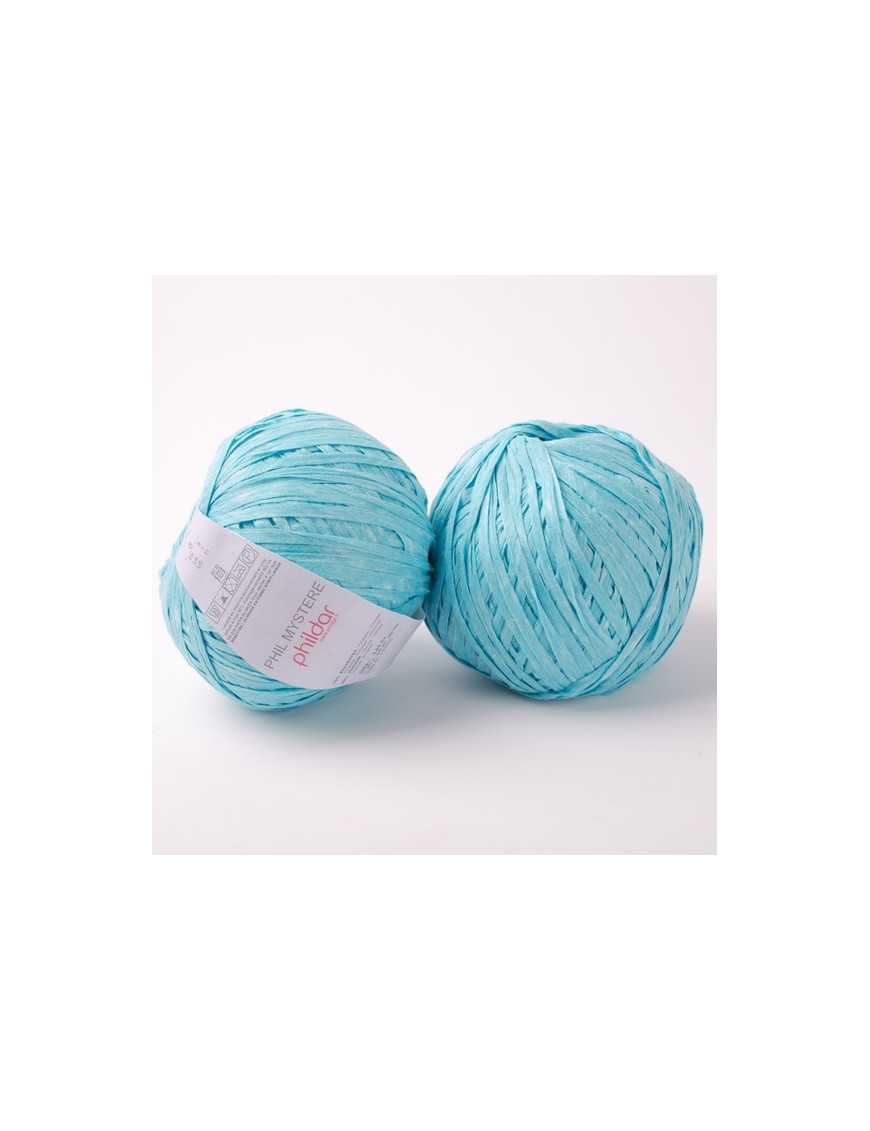 Strickwolle Phildar Phildar Mystere turquoise 08