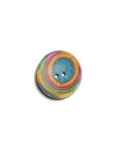 Knitpro gebogen knop rond 34 mm