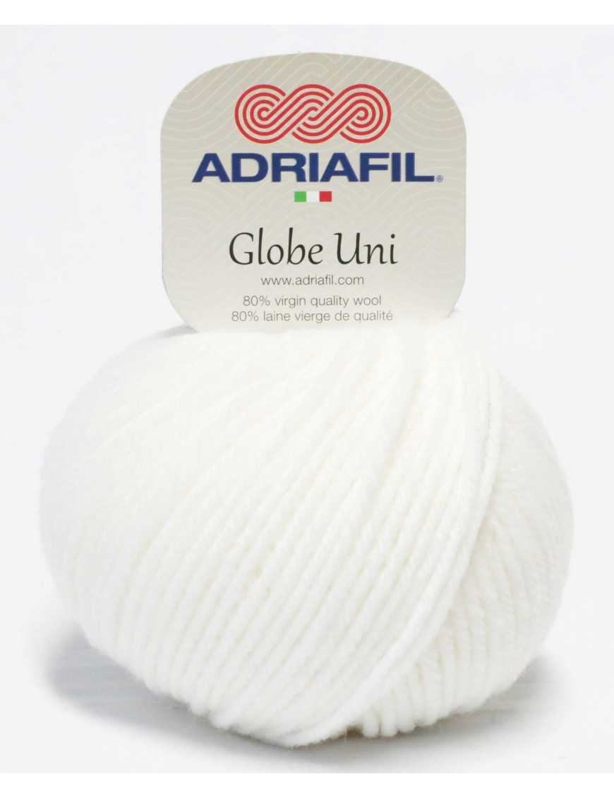 Adriafil Globe Uni weiss 02