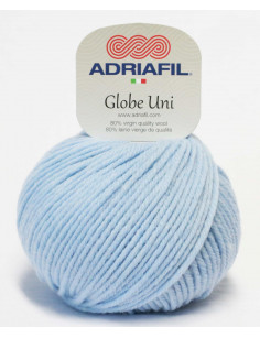 Adriafil Globe Uni himmelblau 41