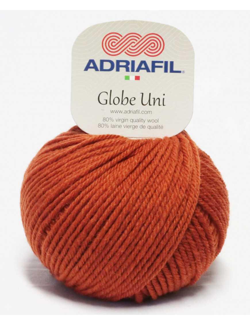 Yarn Globe Uni rust 43