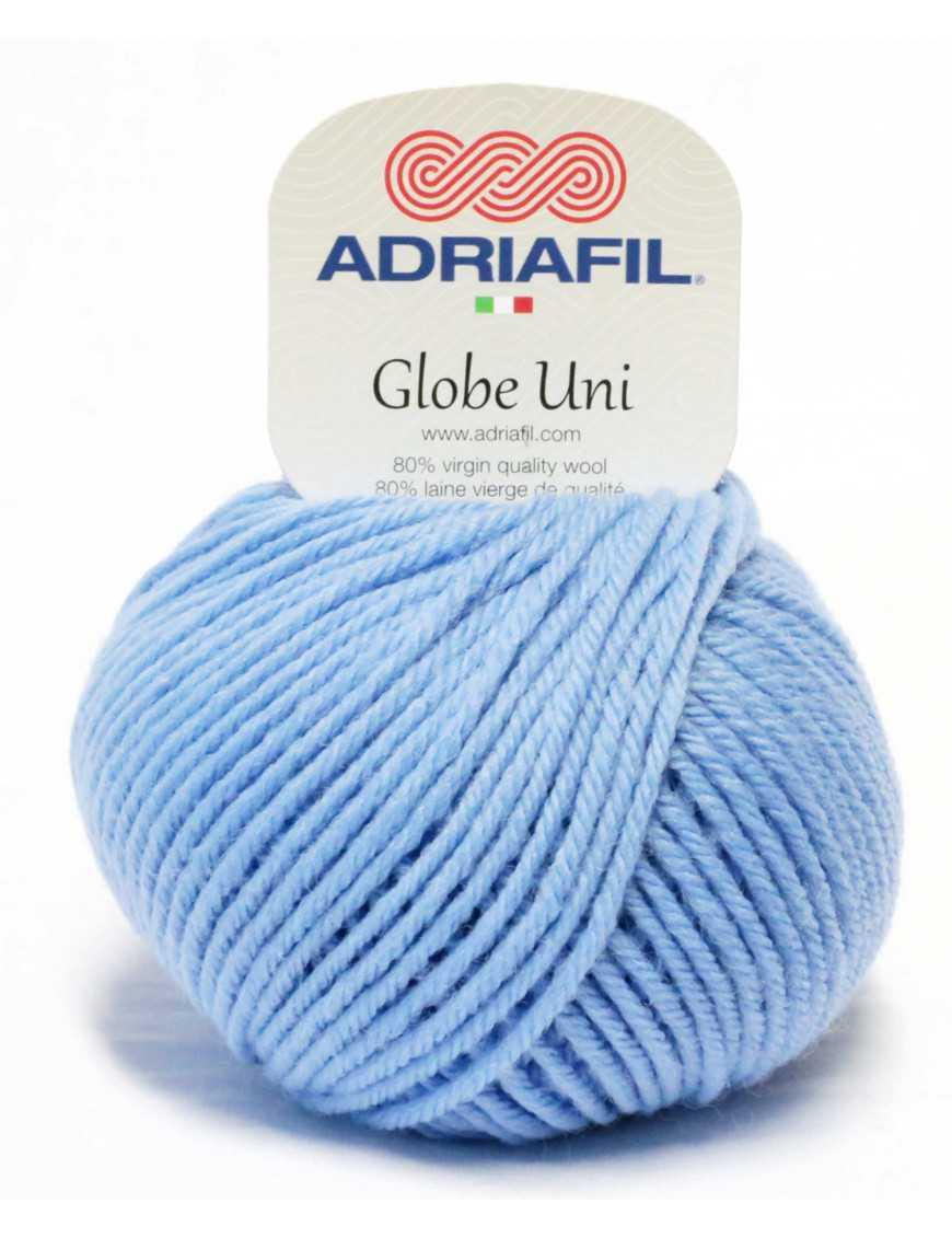 Yarn Globe Uni light blue 49