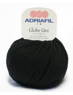 Adriafil Globe Uni Schwarz 01
