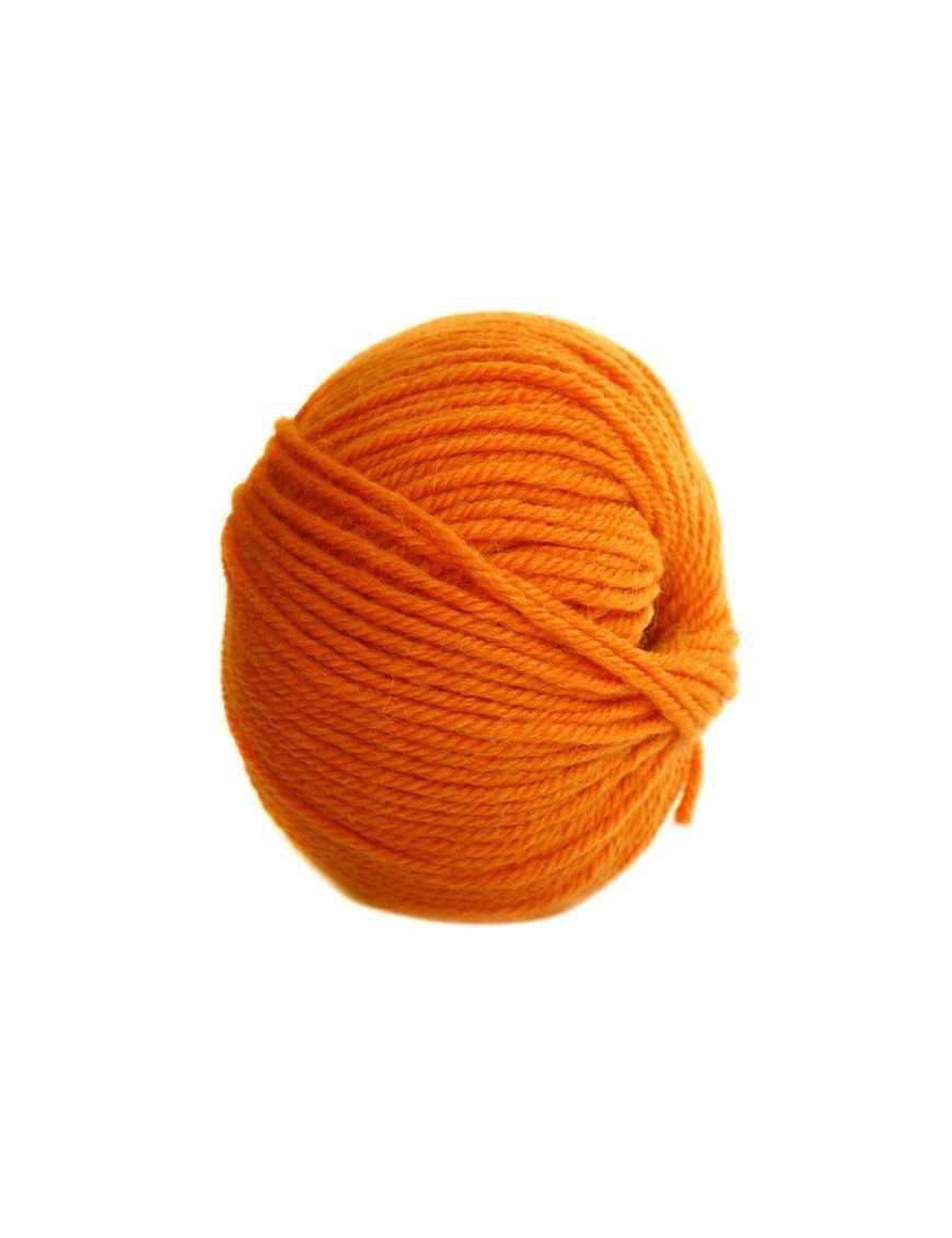 Yarn Globe Uni sea orange 55