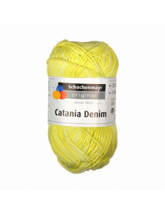 Schachenmayr catania denim lemon