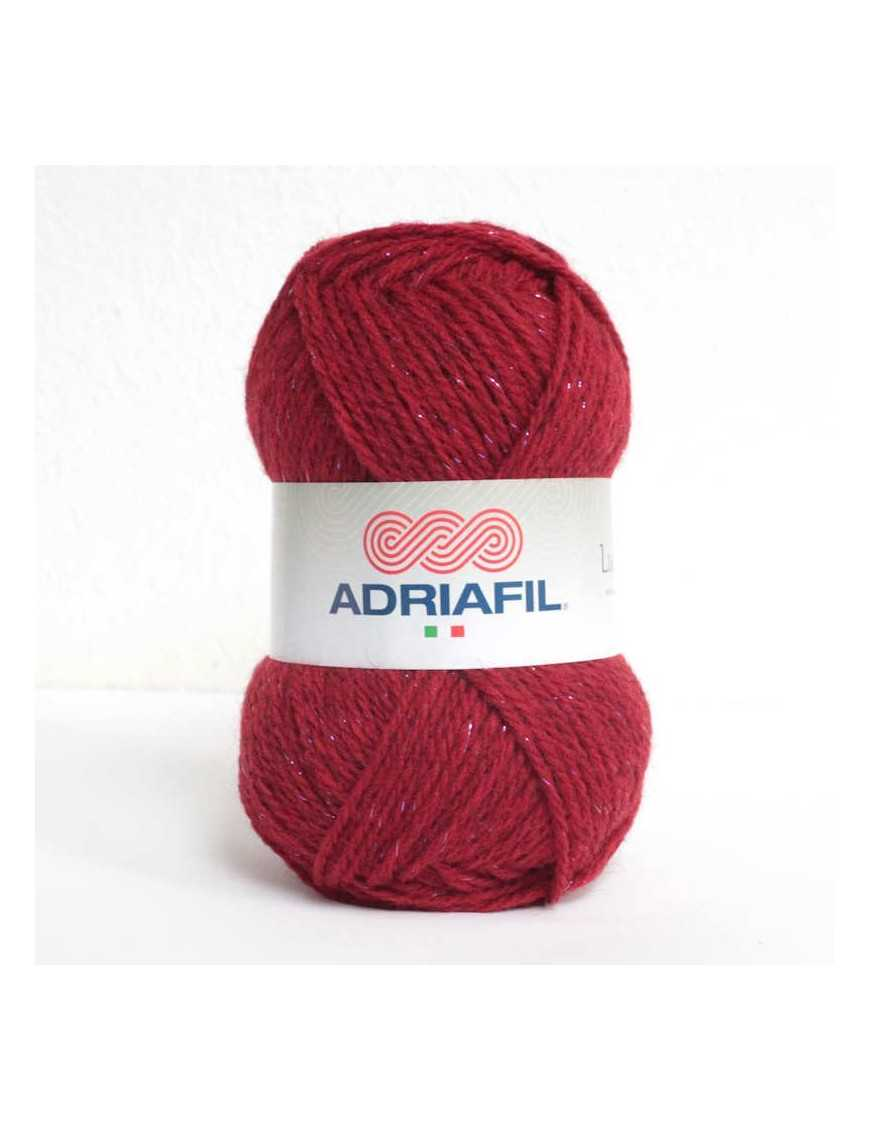 Yarn Luccico red 40