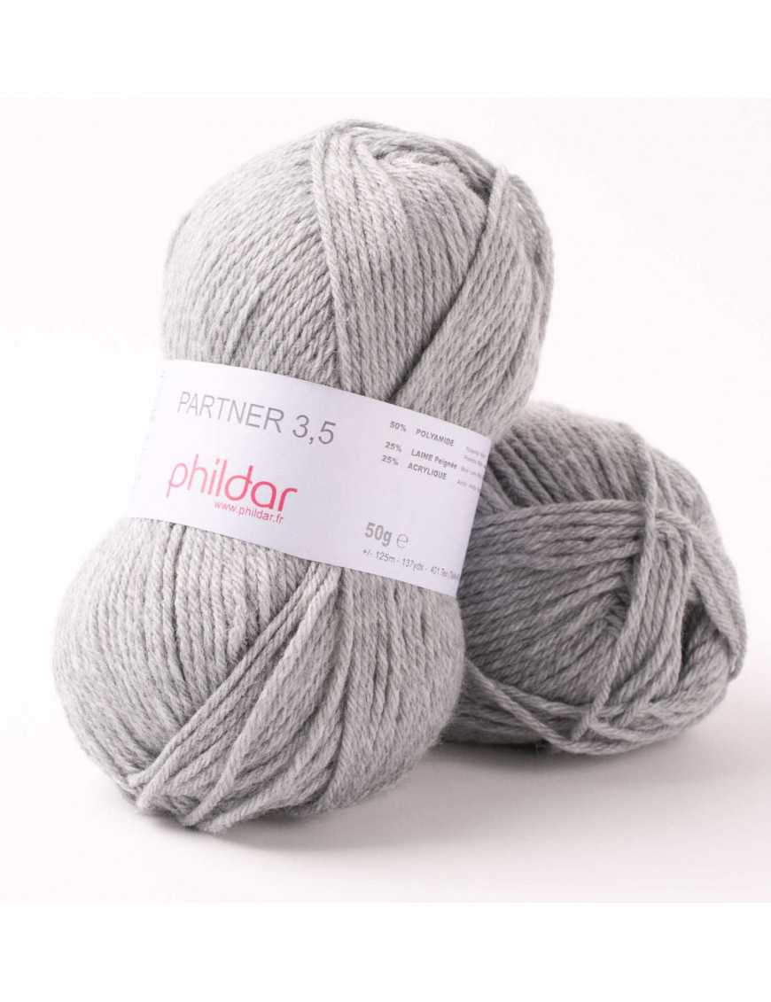 Strickwolle Phildar Phil Partner 3,5 Acier