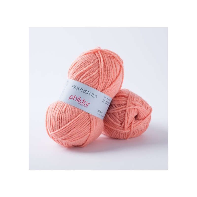 Yarn Phil Partner 3,5 Saumon