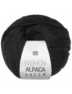 Fashion Alpaca Dream schwarz 009