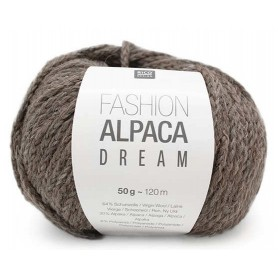 Fashion Alpaca Dream grau-braun 003