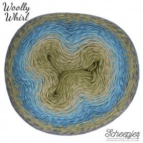 Scheepjes Woolly Whirl Kiwi Drizzle 473
