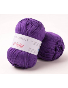Phildar Phil Coton 2 violet 38
