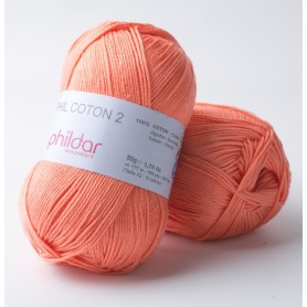 Phildar Phil Coton 2 corail 33