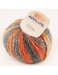Adriafil Zebrino multi-russet fancy