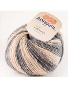 Adriafil Zebrino multi-natural fancy