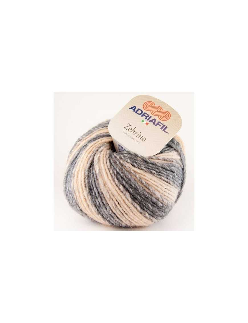 Yarn Zebrino multi-natural fancy 61