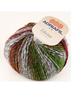 Adriafil Zebrino multicolour fancy