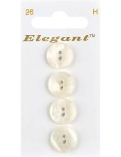 Boutons Elegant nr. 26