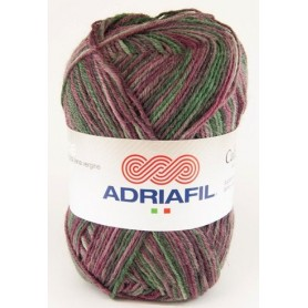 Adriafil calzasocks multi-bordeaux
