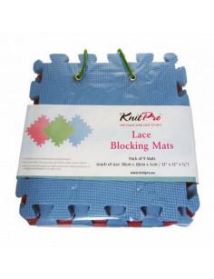 Lace blocking matten