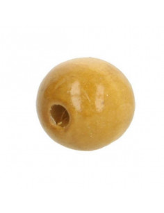 Perles en bois 25 mm