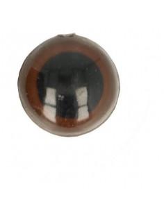 Yeux d'animeaux 18 mm brun