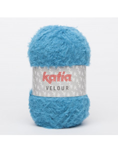 Katia Velvet loop turquoise