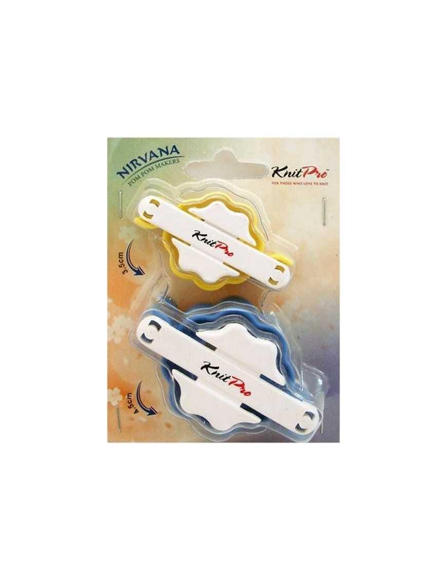 Set à fabriquer des pompons Knitpro Nirvana small