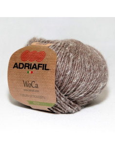 Yarn Woca bark brown 87