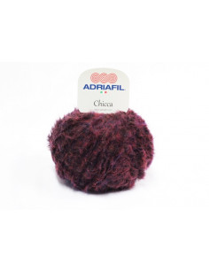Yarn Adriafil Chicca wine red 56