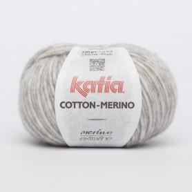 Katia Cotton Merino licht grijs